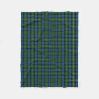 Scottish Clan Fergusson Ferguson Classic Tartan Fleece Blanket