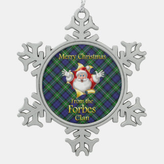 Scottish Clan Forbes Christmas Ornament