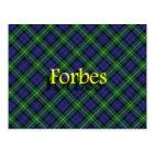 Scottish Clan Forbes Postcard