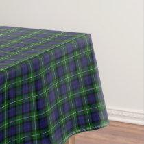 Scottish Clan Forbes Tartan Tablecloth