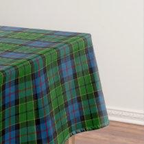 Scottish Clan Forsyth Forsythe Tartan Tablecloth