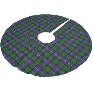 Scottish Clan Galbraith Tartan Brushed Polyester Tree Skirt