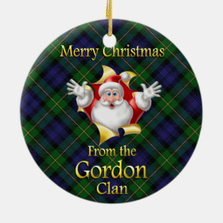 Scottish Clan Gordon Christmas Ornament