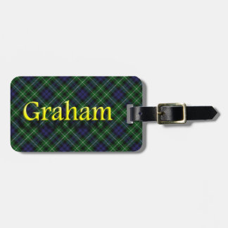 Scottish Clan Graham Luggage Tag