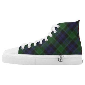 Scottish Clan Graham Three Tartan High Top Sneaker