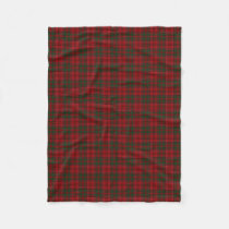 Scottish Clan Grant Classic Tartan Fleece Blanket