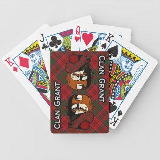 Scottish Clan Grant Tartan Deck Bicycle Poker Cards