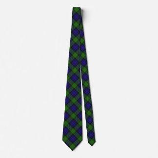 Scottish Clan Gunn Tartan Tie