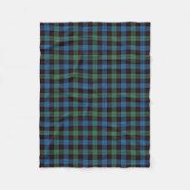 Scottish Clan Guthrie Classic Tartan Fleece Blanket
