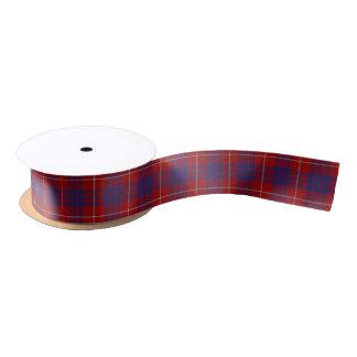 Scottish Clan Hamilton Classic Tartan Satin Ribbon
