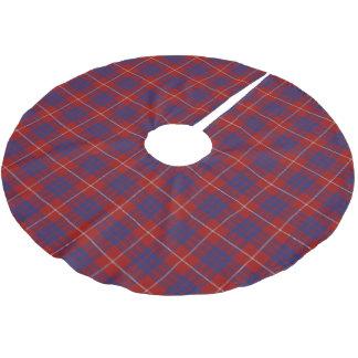 Scottish Clan Hamilton Tartan Brushed Polyester Tree Skirt