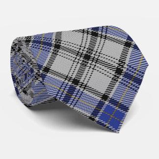 Scottish Clan Hannay H Monogram Tartan Tie