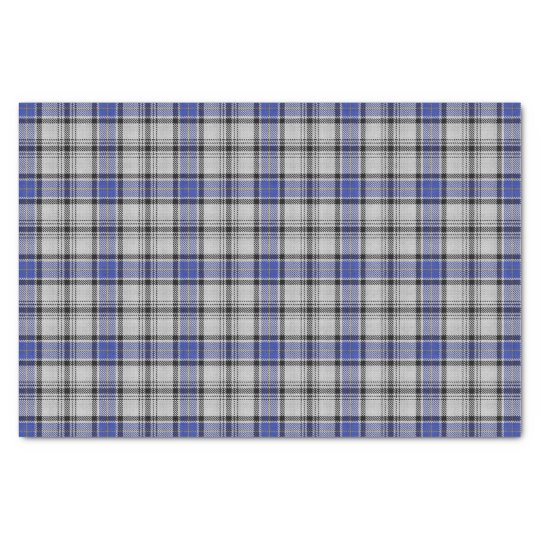 Scottish Clan Hannay Tartan Plaid Tissue Paper