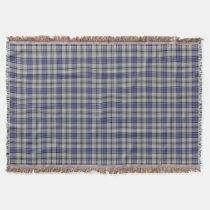 Scottish Clan Hannay Tartan Throw Blanket
