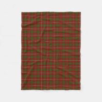 Scottish Clan Hay Classic Tartan Fleece Blanket
