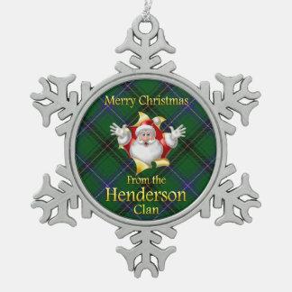 Scottish Clan Henderson Christmas Ornament