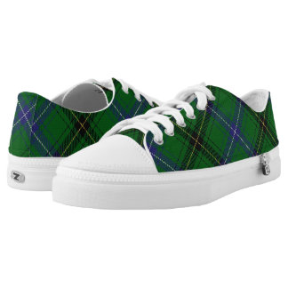 Scottish Clan Henderson Tartan Printed Shoes