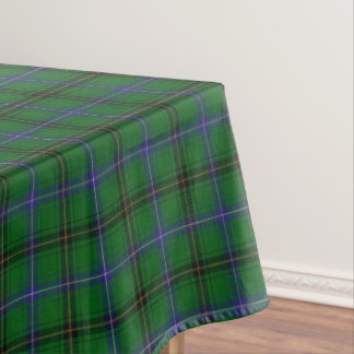 Scottish Clan Henderson Tartan Tablecloth