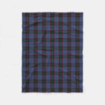 Scottish Clan Home Classic Tartan Fleece Blanket