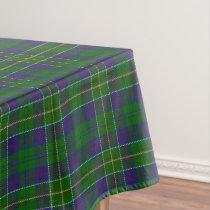 Scottish Clan Hunter Tartan Tablecloth