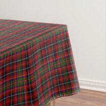 Scottish Clan Innes Tartan Tablecloth