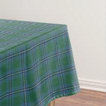 Scottish Clan Irvine Irwin Tartan Tablecloth