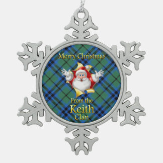 Scottish Clan Keith Christmas Ornament