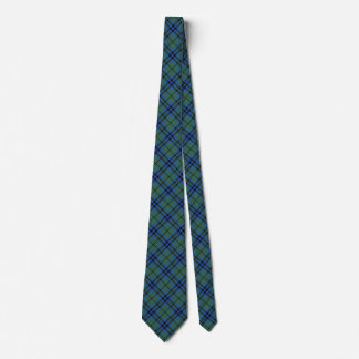 Scottish Clan Keith Tartan Tie