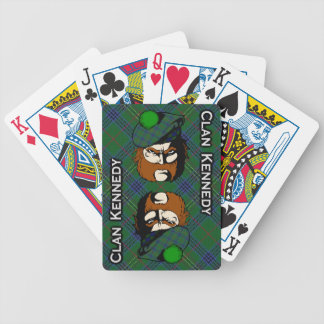 Scottish Clan Kennedy Tartan Deck Bicycle Playing Cards