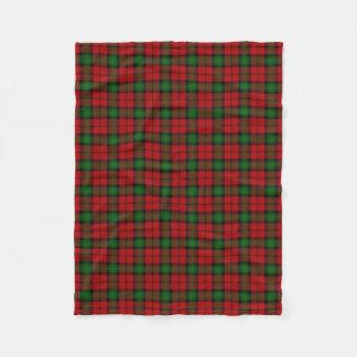 Scottish Clan Kerr Classic Tartan Fleece Blanket