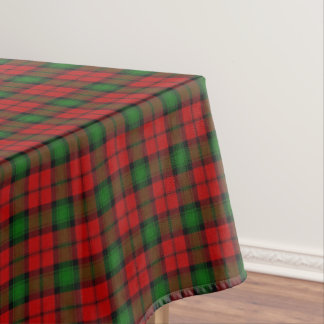Scottish Clan Kerr Tartan Tablecloth