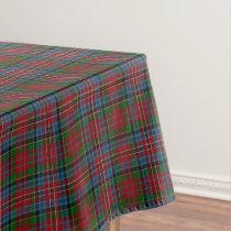 Scottish Clan Kidd Red Green Blue Tartan Tablecloth