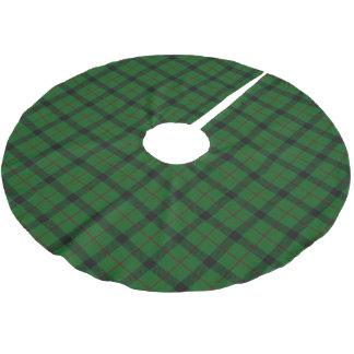 Scottish Clan Kincaid Tartan Brushed Polyester Tree Skirt