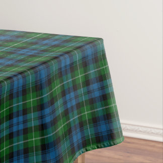 Scottish Clan Lamont Tartan Tablecloth
