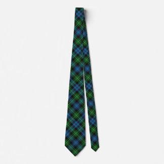 Scottish Clan Lamont Tartan Tie