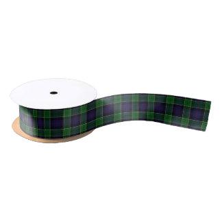 Scottish Clan Leslie Classic Hunting Tartan Satin Ribbon