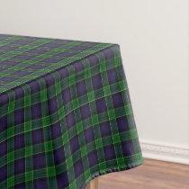 Scottish Clan Leslie Hunting Tartan Tablecloth