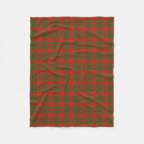Scottish Clan Livingstone Classic Tartan Fleece Blanket