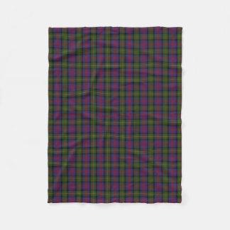 Scottish Clan Logan Classic Tartan Fleece Blanket
