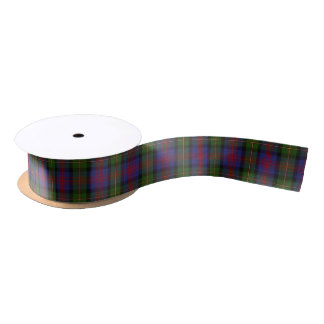 Scottish Clan Logan Classic Tartan Satin Ribbon