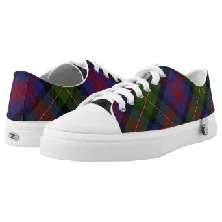 Scottish Clan Logan Tartan Low Tops