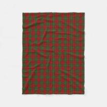 Scottish Clan MacAulay Classic Tartan Fleece Blanket