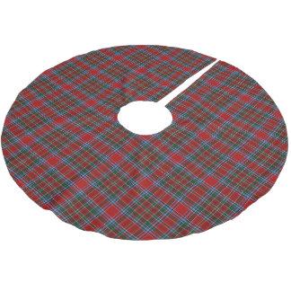 Scottish Clan MacBean MacBain Tartan Brushed Polyester Tree Skirt