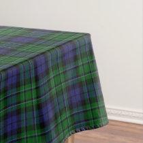 Scottish Clan MacCallum Tartan Tablecloth