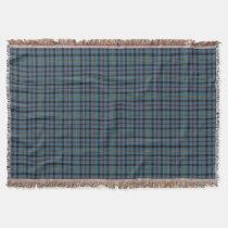 Scottish Clan MacCrimmon Tartan Throw Blanket
