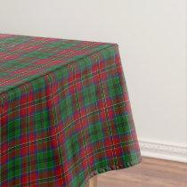 Scottish Clan MacCulloch MacCullough Tartan Tablecloth