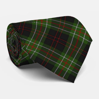 Scottish Clan MacDiarmid Letter M Monogram Tartan Tie