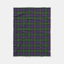 Scottish Clan MacDonald Donald Classic Tartan Fleece Blanket