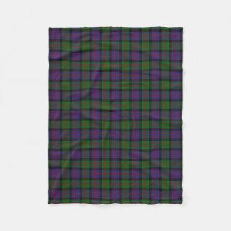 Scottish Clan MacDonald Donald Classic Tartan Fleece Blanket
