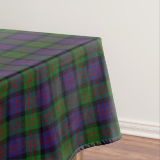 Scottish Clan MacDonald Donald Tartan Tablecloth